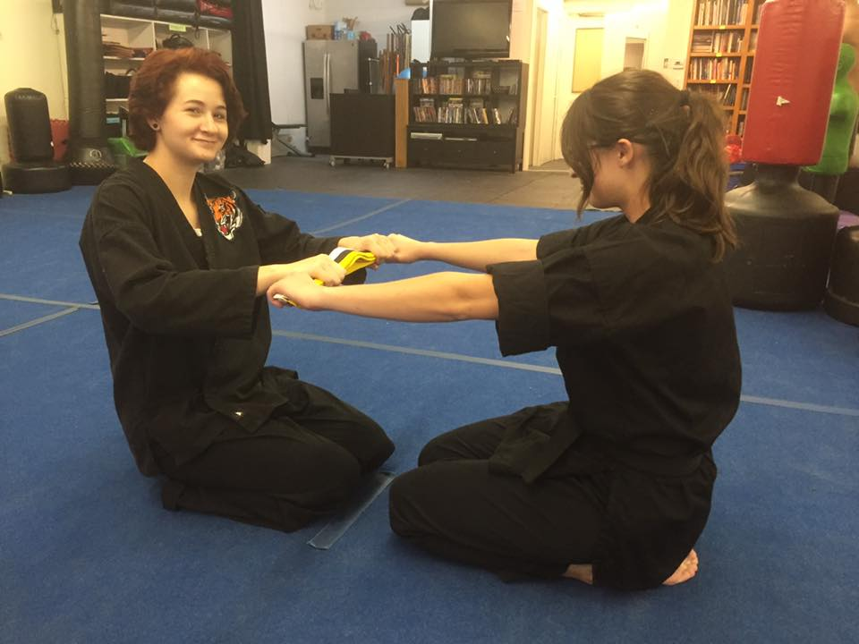Sensei Lauren and Sensei Gaby